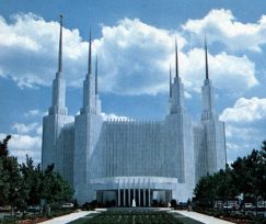 Washington           D.C. Temple, ~1965.